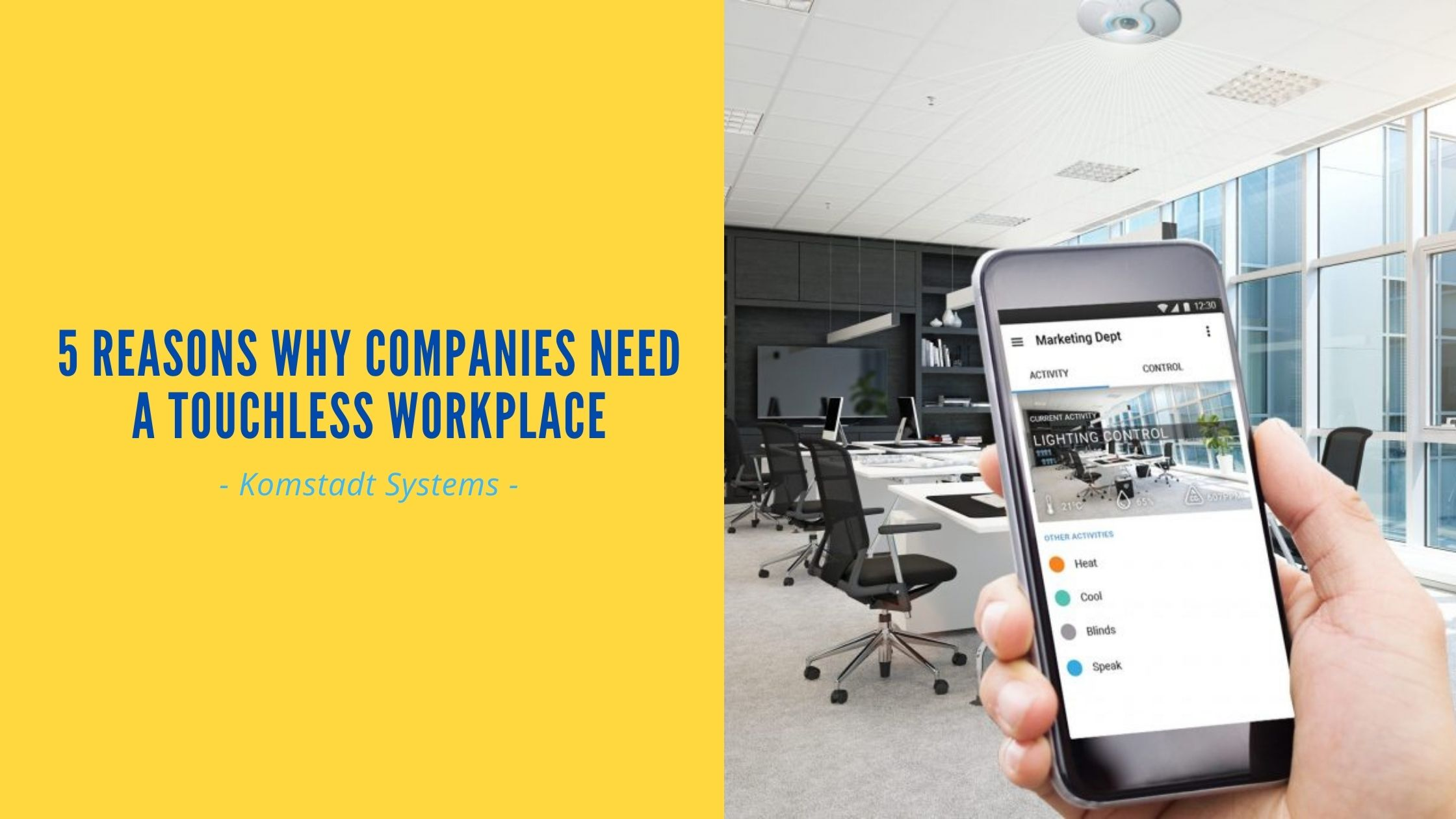 5 Reasons why Companies Need a Touchless Workplace