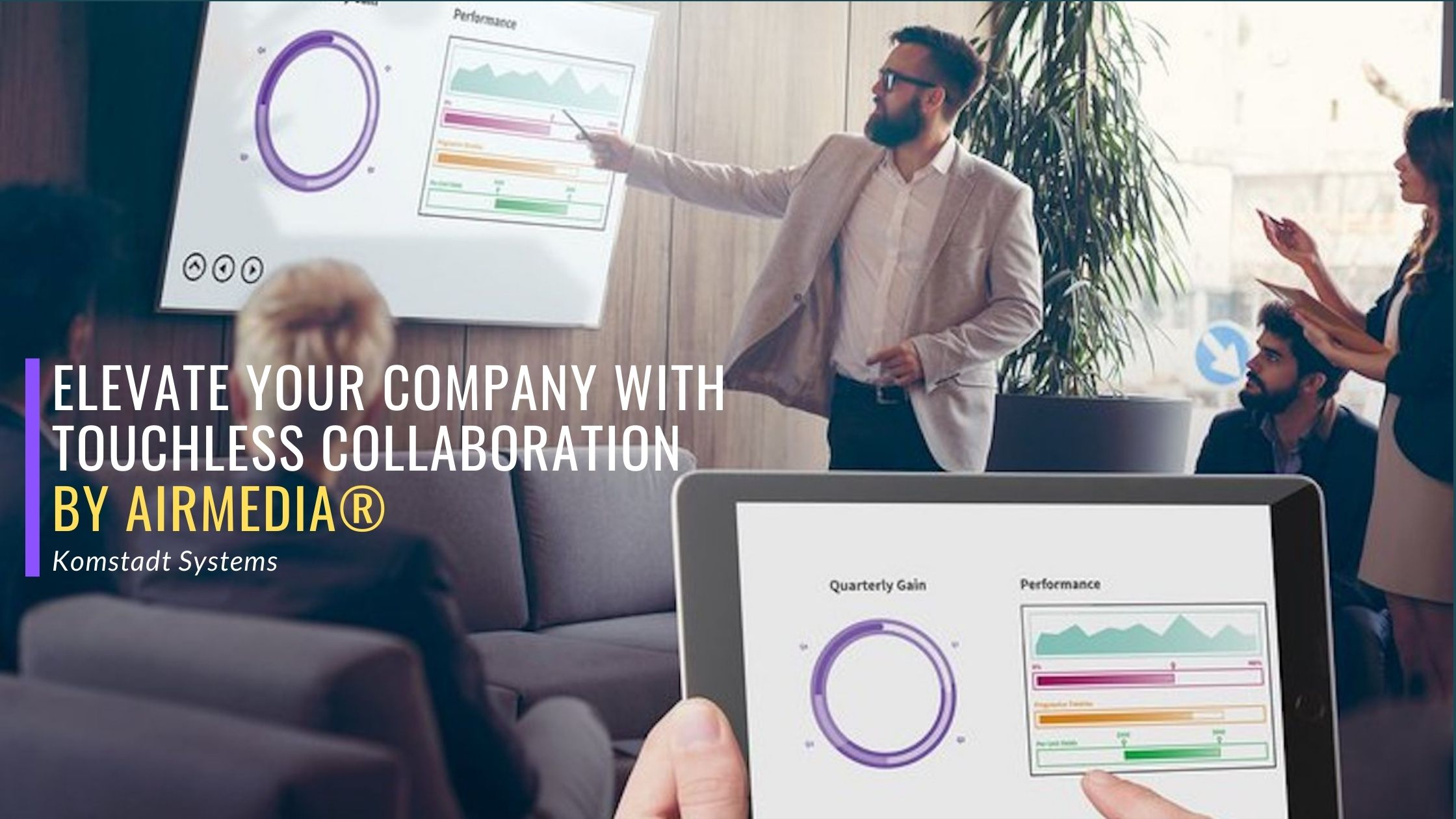 Read more about the article Elevate Your Company with Touchless Collaboration by AirMedia®