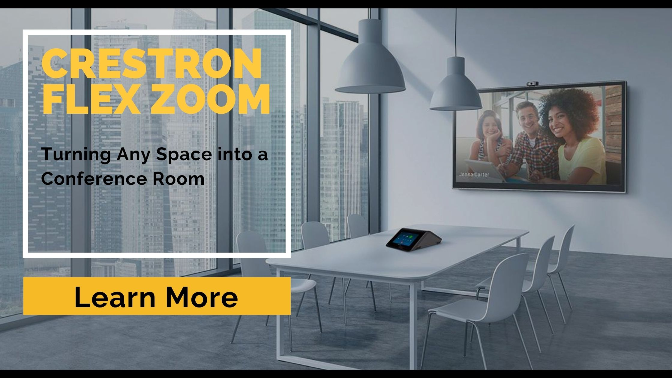 Crestron Flex Zoom: Turning Any Space into a Conference Room