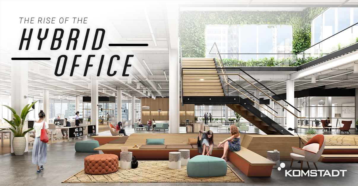 Read more about the article Transforming Office Spaces: The Rise of The Hybrid Office