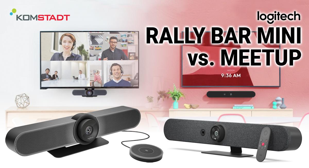 Logitech Rally Bar Mini vs Meetup1