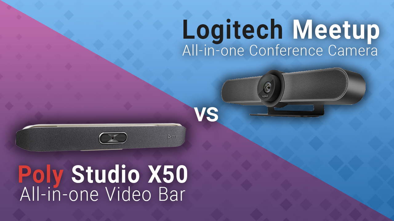 Read more about the article Poly Studio X50 vs Logitech Meetup: Comparing the Conferencing Systems