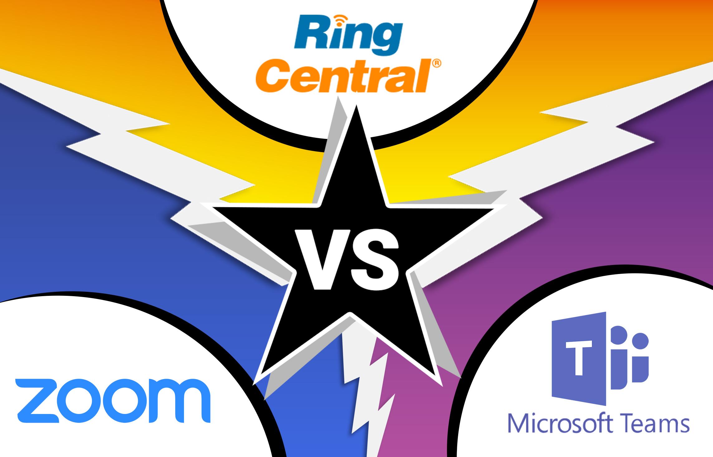 zoom vs microsoft team vs ring central