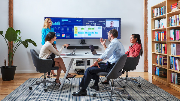 Read more about the article Improving Visual Collaboration with Oblong's Mezzanine Series