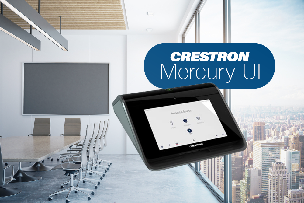 Read more about the article The All in One Console Tool: Crestron Mercurial UI